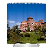 Immaculate Conception Monastery Shower Curtain