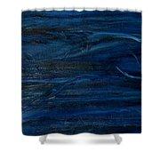 Immense Blue Shower Curtain