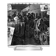 Immigrant Coach Car, 1881 Shower Curtain