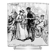 Immigrant Inspection, 1883 Shower Curtain