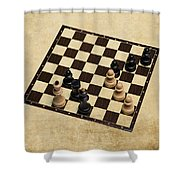 Immortal Chess - Kasparov Vs Topalov 1999 Shower Curtain