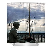 Immortalized Shower Curtain