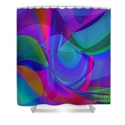 Impassioned Shower Curtain