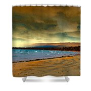 Impending Storms Shower Curtain