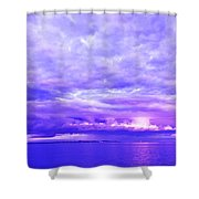 Impending Weather Shower Curtain