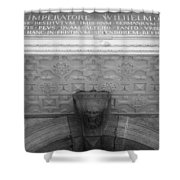 Imperatore Wilhelmo Cologne Germany Shower Curtain
