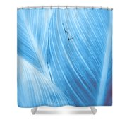 Imperfection Blue Version Shower Curtain