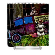 Imperial Laundry Truck Shower Curtain