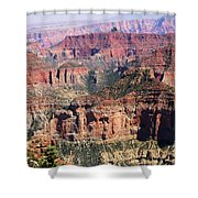 Imperial Towers Shower Curtain