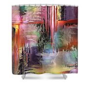 Imperissable  Shower Curtain by Francoise Dugourd-Caput