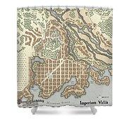 Imperium Vallis Shower Curtain