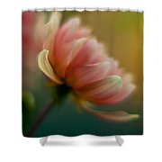 Impressionist Dahlia Shower Curtain