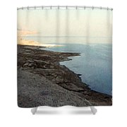 Impressionist Of The Dead Sea Shower Curtain