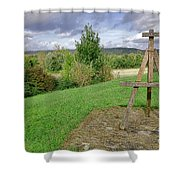Impressionist Ready Shower Curtain