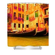 Impressionistic Photo Paint Gs 007 Shower Curtain