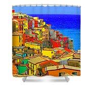 Impressionistic Photo Paint Gs 008 Shower Curtain