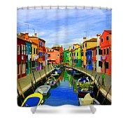 Impressionistic Photo Paint Gs 013 Shower Curtain