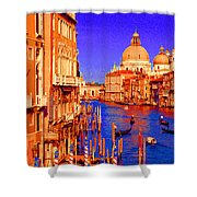 Impressionistic Photo Paint Gs 014 Shower Curtain