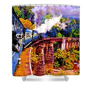 Impressionistic Photo Paint Gs 016 Shower Curtain by Catf