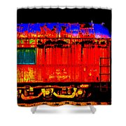 Impressionistic Photo Paint Gs 017 Shower Curtain