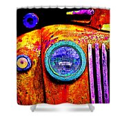 impressionistic photo paint GS 019 Shower Curtain