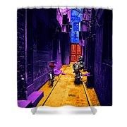 Impressionistic Photo Paint Ls 007 Shower Curtain
