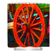 Impressionistic Photo Paint Ls 011 Shower Curtain