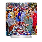Impressionistic Photo Paint Ls 013 Shower Curtain