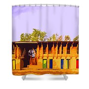 Impressionistic Photo Paint Ls 025 Shower Curtain