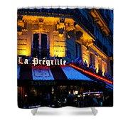 Impressions Of Paris - Latin Quarter Night Life Shower Curtain
