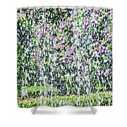Impressions Of Spring 4 Shower Curtain