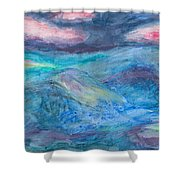 Impressions Of The Sea 2 Shower Curtain