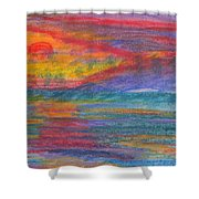 Impressions Of The Sea 3 Shower Curtain