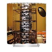 Impressive Wine Rack Shower Curtain