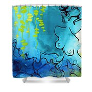 Imprint Shower Curtain