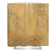 Imprints - Abstract Art By Sharon Cummings Shower Curtain