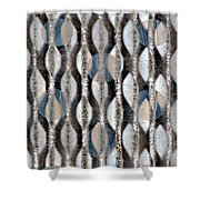 Captive Circles Shower Curtain