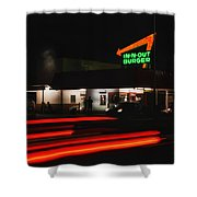 In And Out In Pasadena Shower Curtain