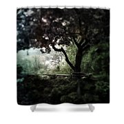 In And Out Of The Garden Shower Curtain
