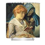 In Church Shower Curtain by Luigi da Rios
