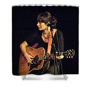 In Concert With Folk Singer Pieta Brown Shower Curtain