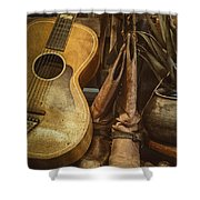 In Cowboys Dreams Shower Curtain