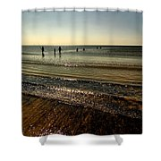In From The Sea Shower Curtain