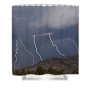 In From The West  15x81 Shower Curtain