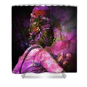 In Full Dress - Turkish Soldier Bashibazouk - Featured In The Abc -f- Feminine Group Shower Curtain