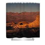 In Heat Shower Curtain