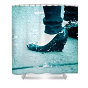 In Her Shoes Shower Curtain