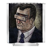 In His Mind Shower Curtain