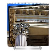 In Honorem Shower Curtain