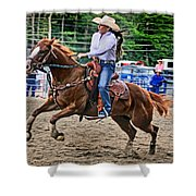 In It To Win It Shower Curtain
